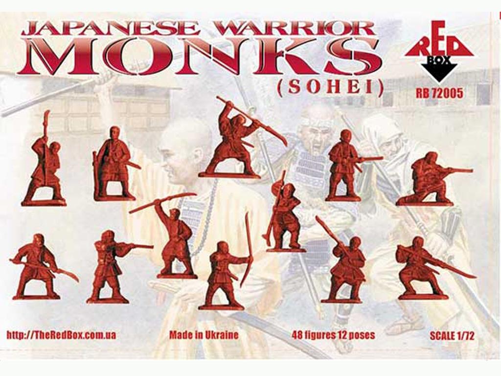Monjes Guerreros Japoneses (Sohei) Siglo  (Vista 2)