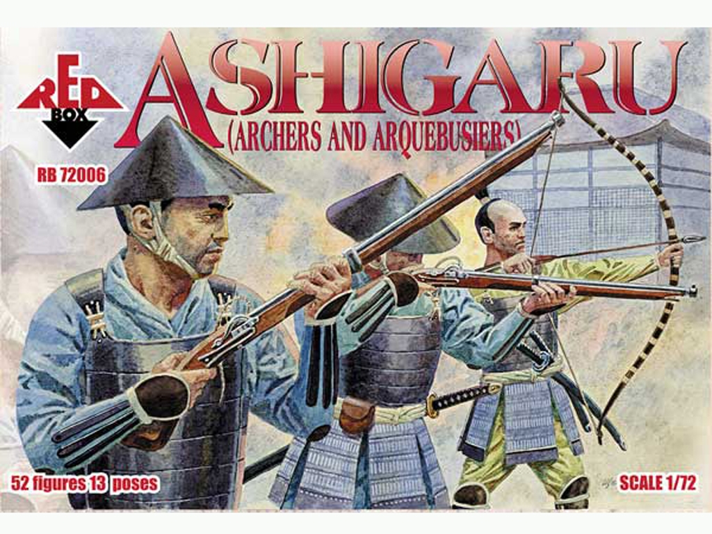 Arqueros y Arquebusieros Ashigaru Japone  (Vista 1)