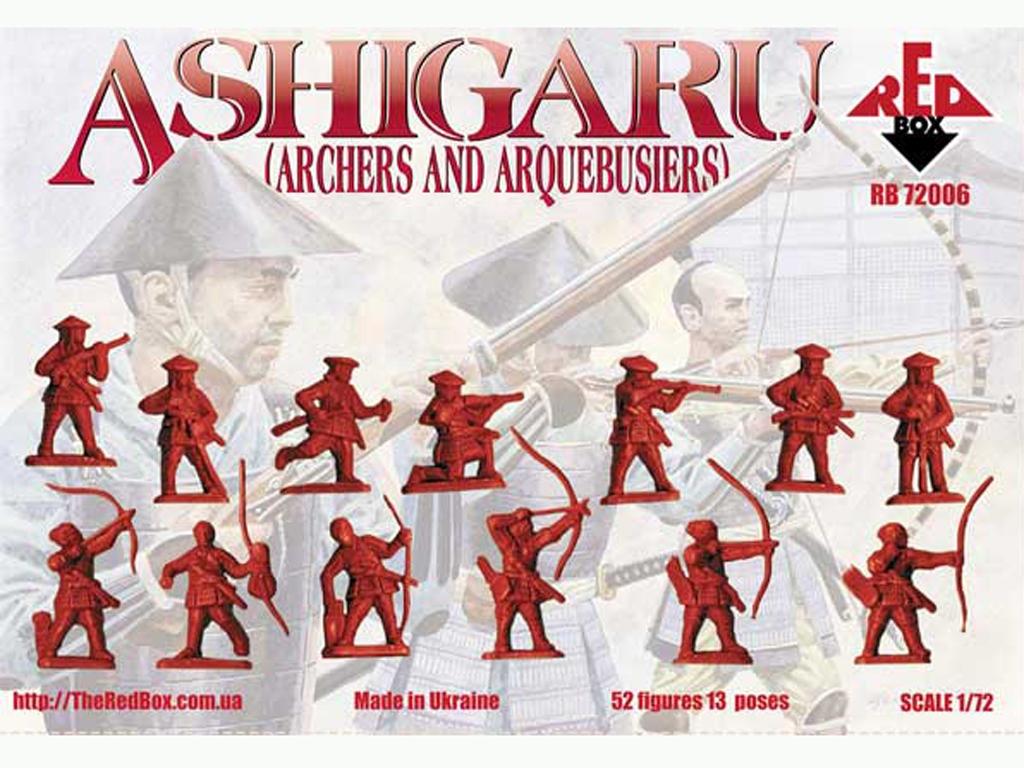 Arqueros y Arquebusieros Ashigaru Japone  (Vista 2)