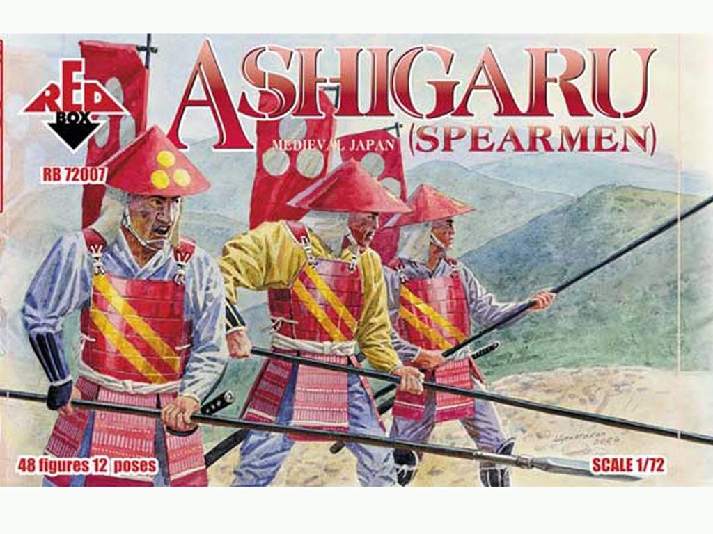 Lanceros Ashigaru Japonés Siglo XVI  (Vista 1)
