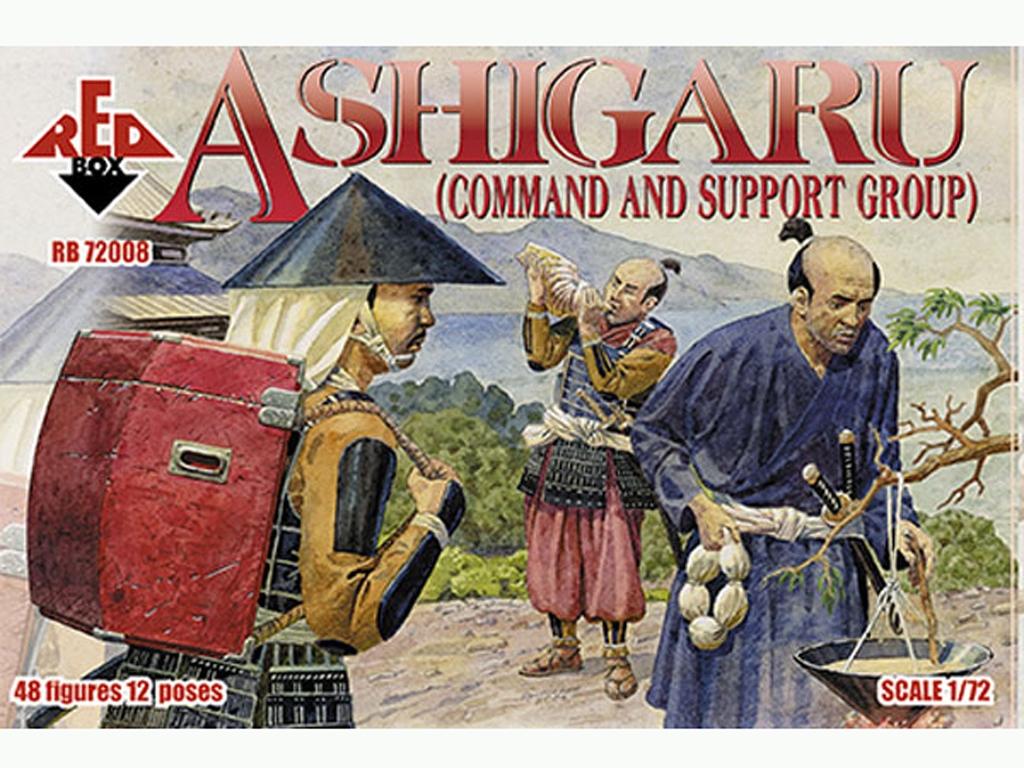 Grupo de Mando y Apoyo Ashigaru Japonés   (Vista 1)