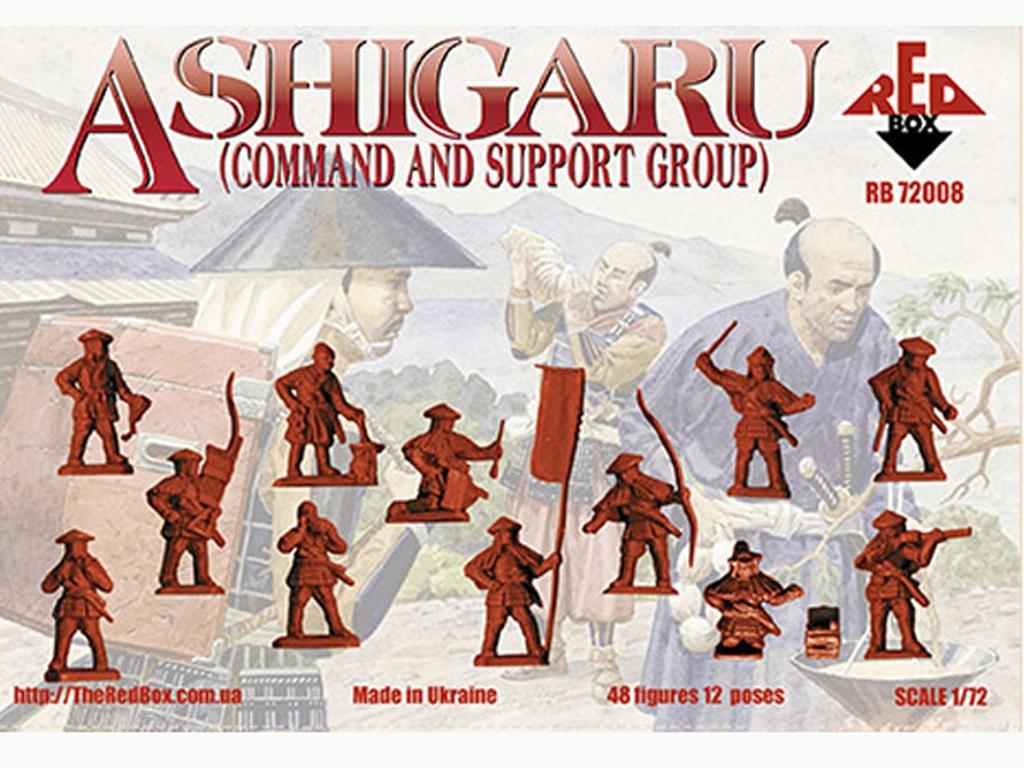 Grupo de Mando y Apoyo Ashigaru Japonés   (Vista 2)