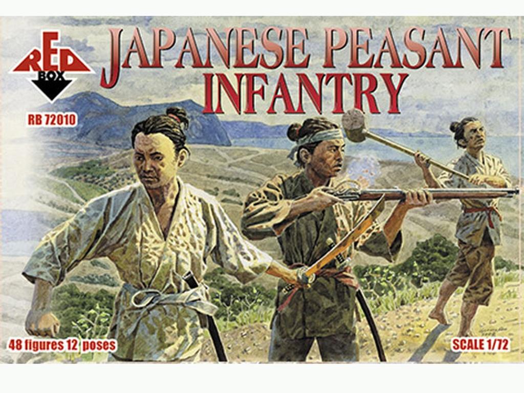 Infantería Campesina Japonesa Siglo XVI  (Vista 1)