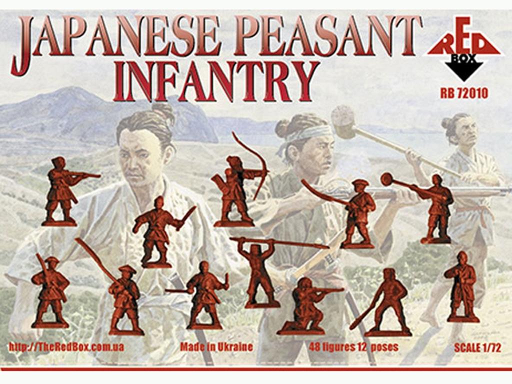 Infantería Campesina Japonesa Siglo XVI  (Vista 2)