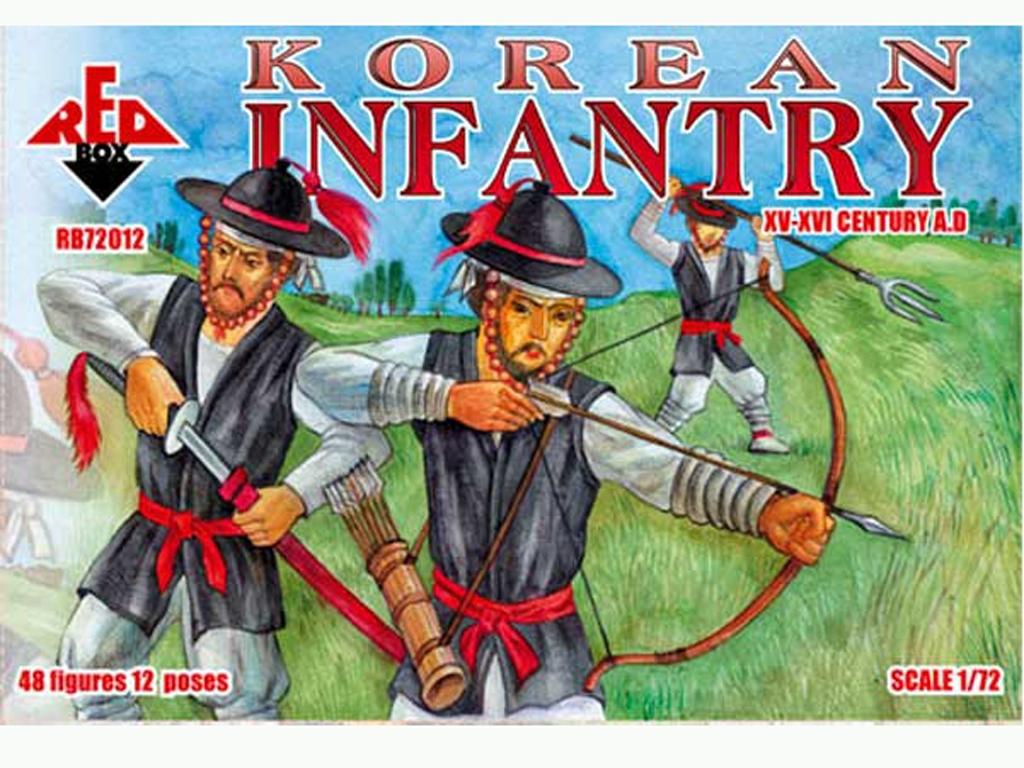 Infantería Coreana Siglos XV-XVI  (Vista 1)