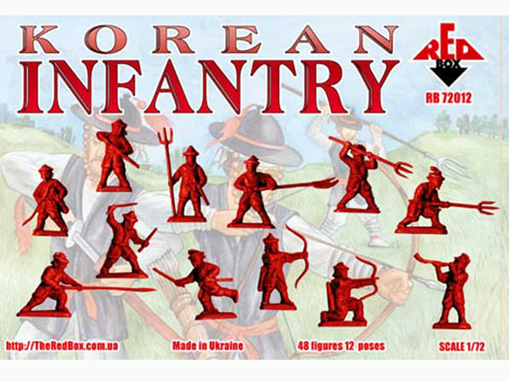Infantería Coreana Siglos XV-XVI  (Vista 2)