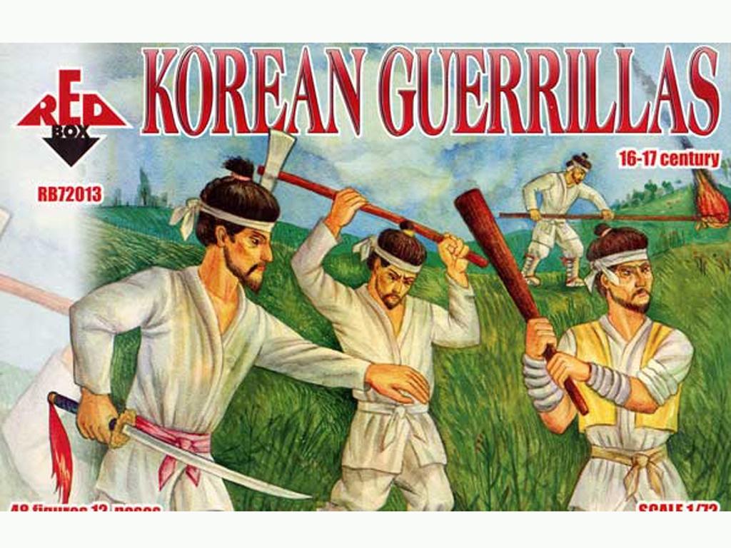 Guerrilleros Coreanos siglos XVI-XVII  (Vista 1)