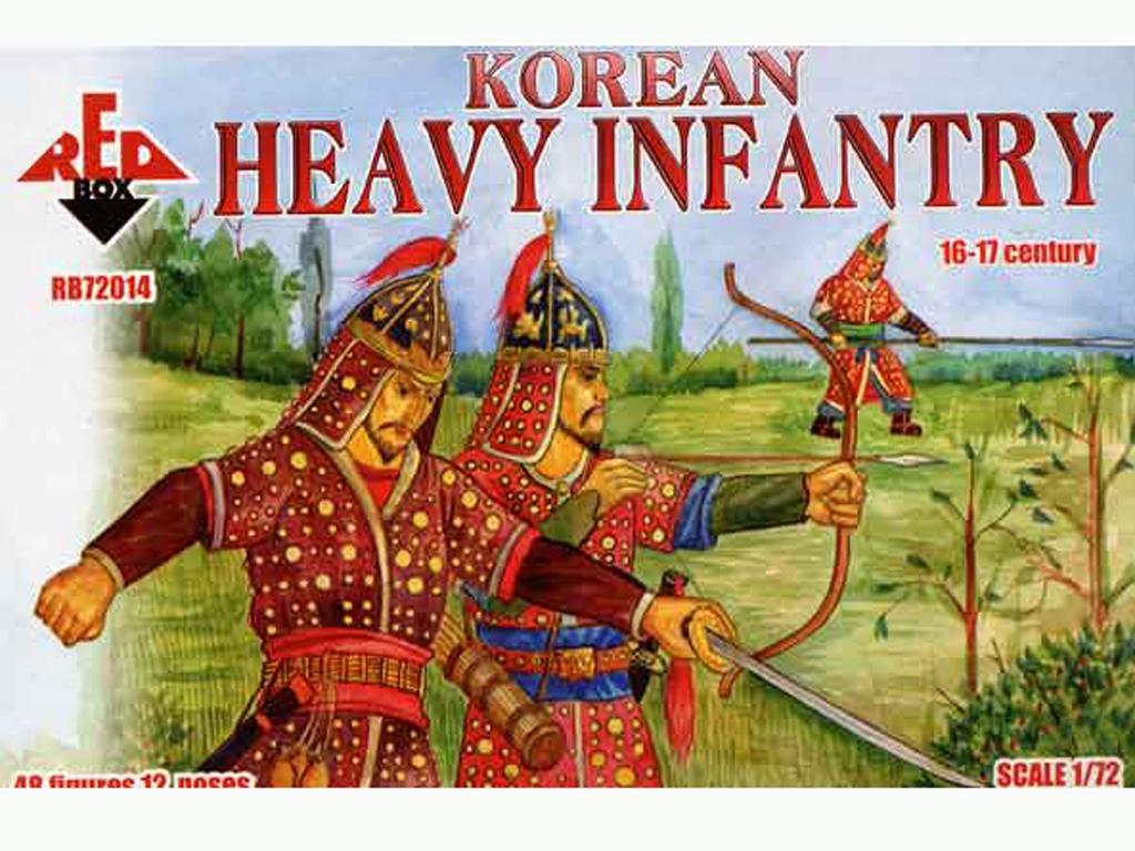 Infantería Pesada Coreana Siglos XVI-XVI  (Vista 1)