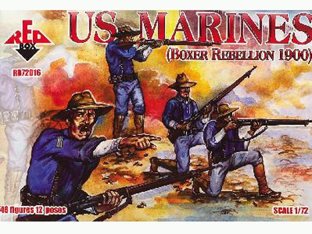 Marines de EE.UU. (Rebelión de los Boxer  (Vista 1)