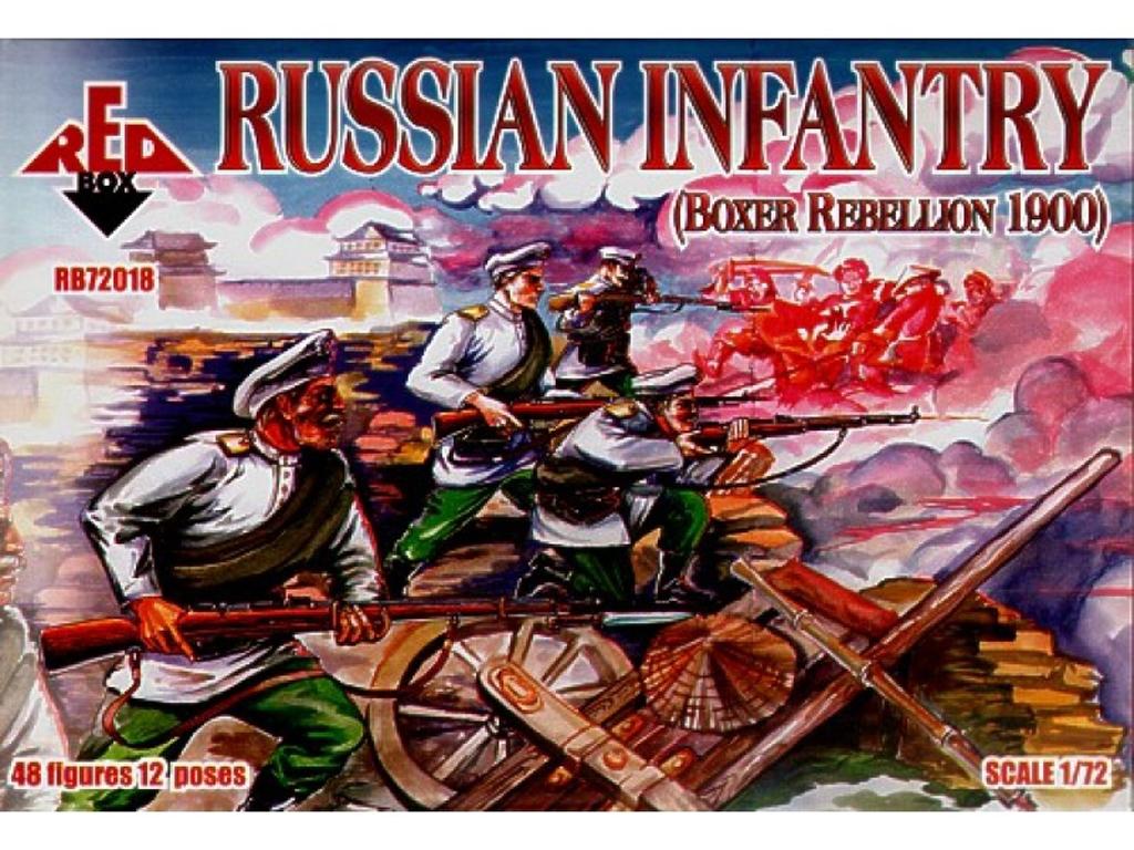 Infantería Rusa (Rebelión de los Boxer)   (Vista 1)