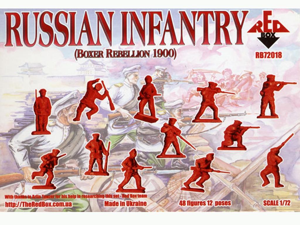 Infantería Rusa (Rebelión de los Boxer)   (Vista 2)