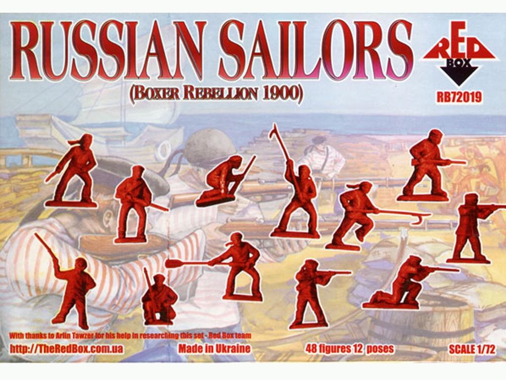 Marineros Rusos (Rebelión de los Boxer)   (Vista 2)