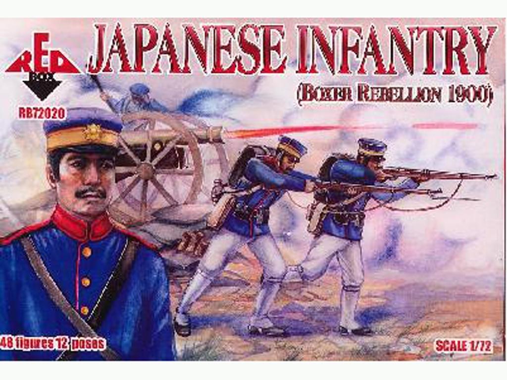 Infantería Japonesa (Rebelión de los Box  (Vista 1)