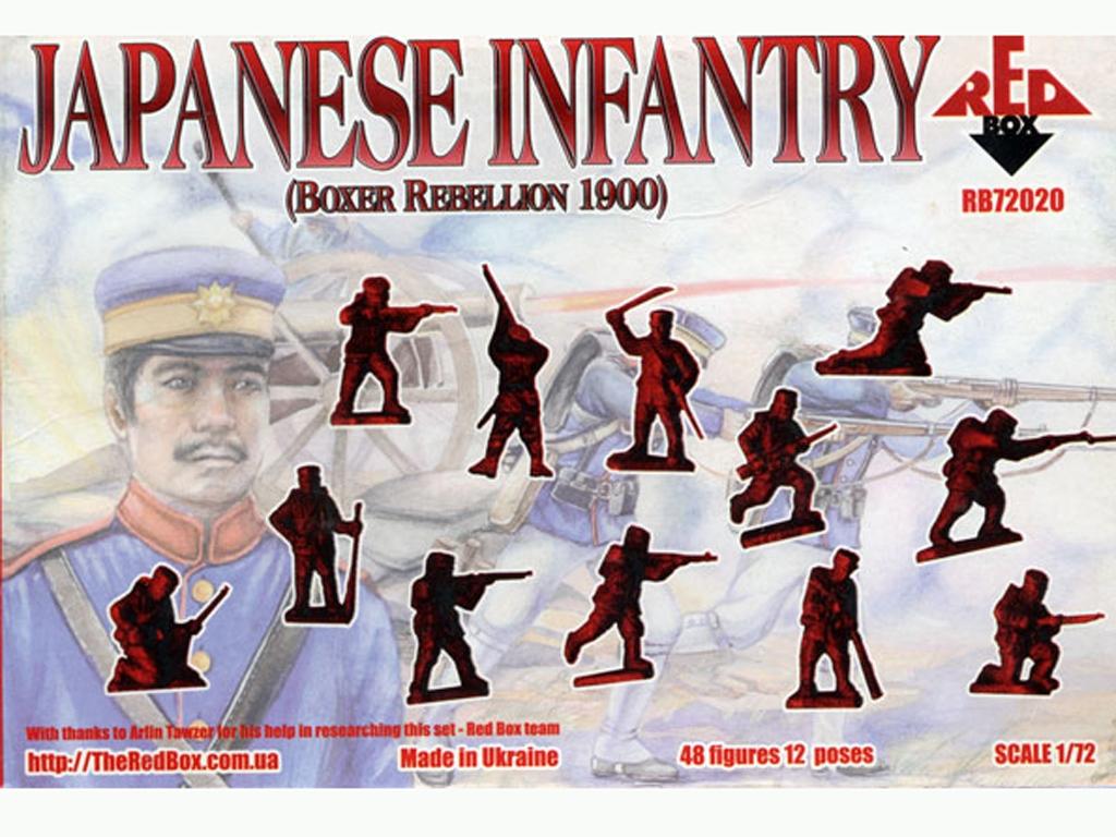 Infantería Japonesa (Rebelión de los Box  (Vista 2)