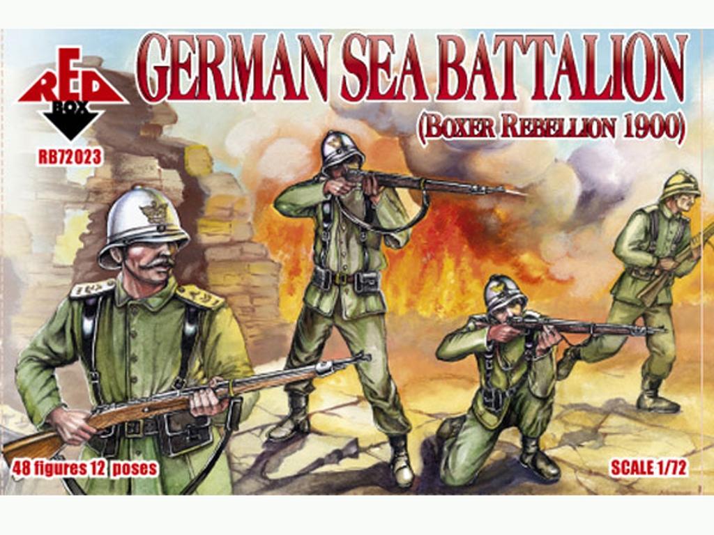 Batallón Marítimo Alemán 1900  (Vista 1)