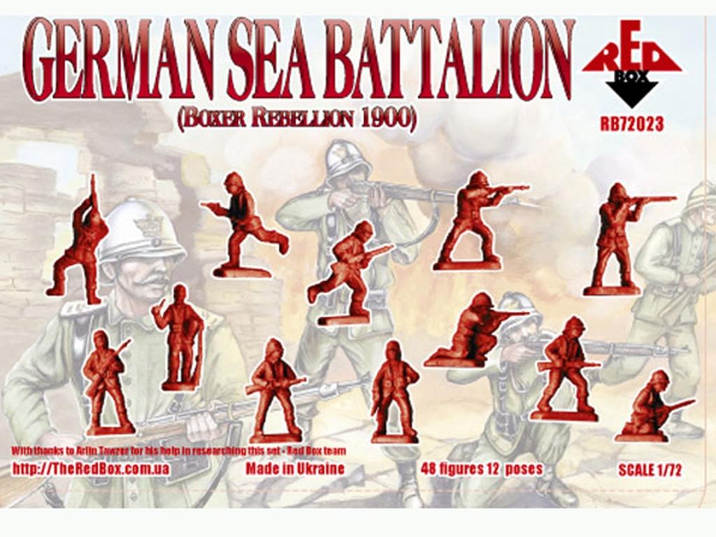 Batallón Marítimo Alemán 1900  (Vista 2)