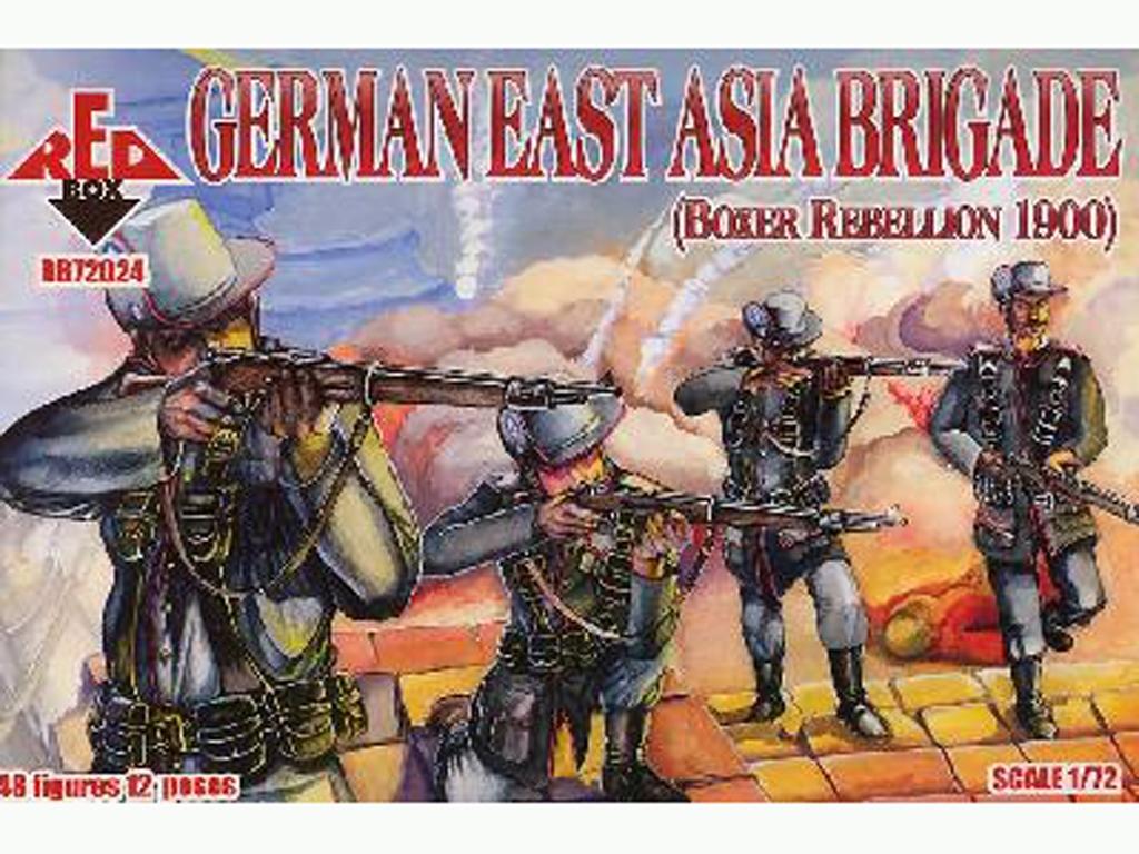 Brigada Alemana de Asia Oriental 1900  (Vista 1)