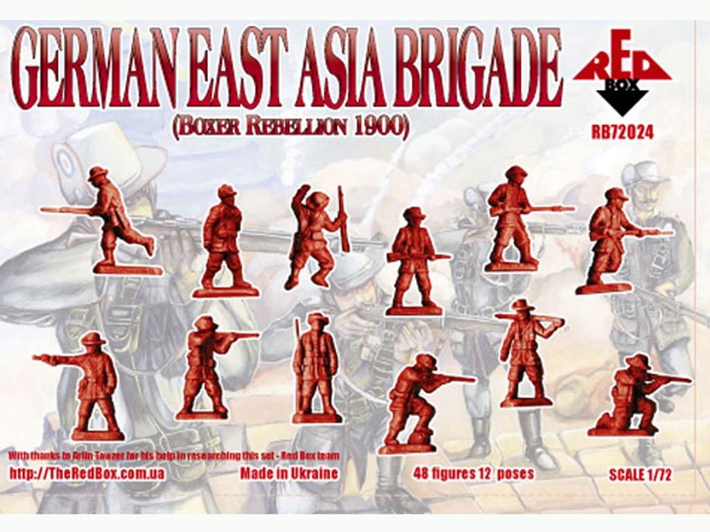 Brigada Alemana de Asia Oriental 1900  (Vista 2)