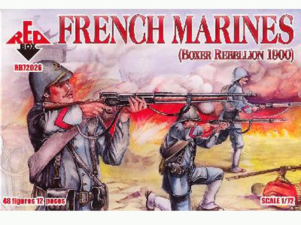 Marines Franceses 1900  (Vista 1)