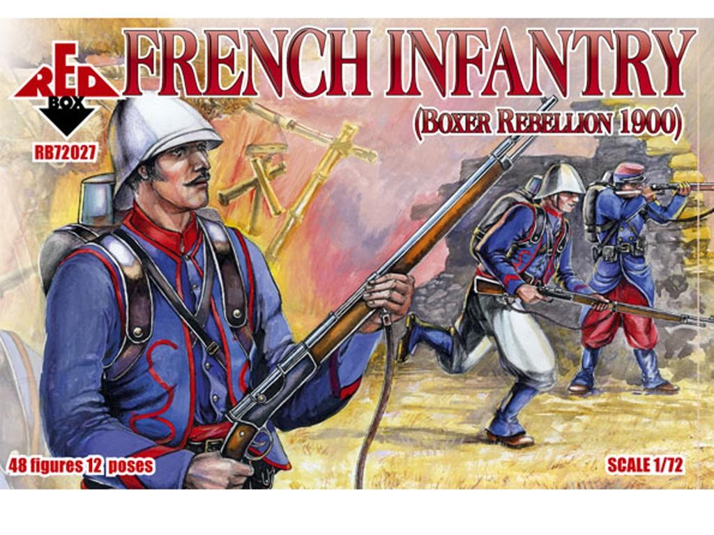 French Infantry 1900  (Vista 1)
