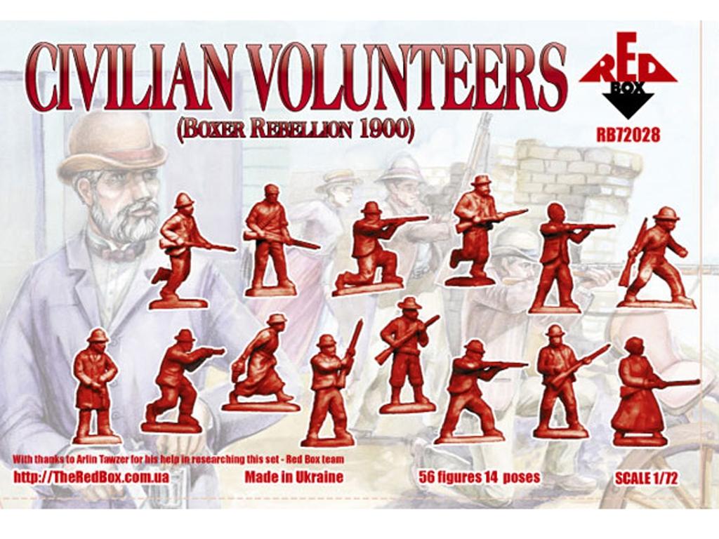 Voluntarios civiles 1900  (Vista 2)