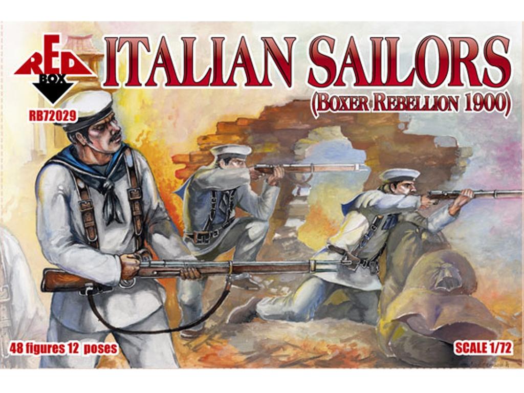 Marineros Italianos rebelión Boxer 1900  (Vista 1)