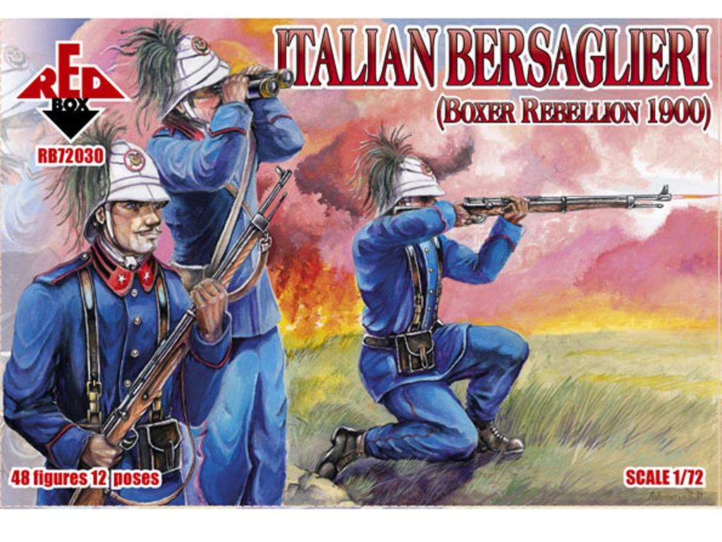 Rebelión Italiana de los Bersaglieri Box  (Vista 1)