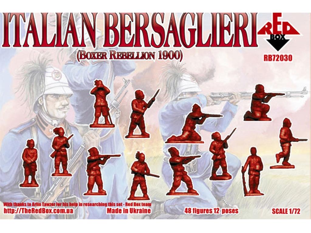 Rebelión Italiana de los Bersaglieri Box  (Vista 2)