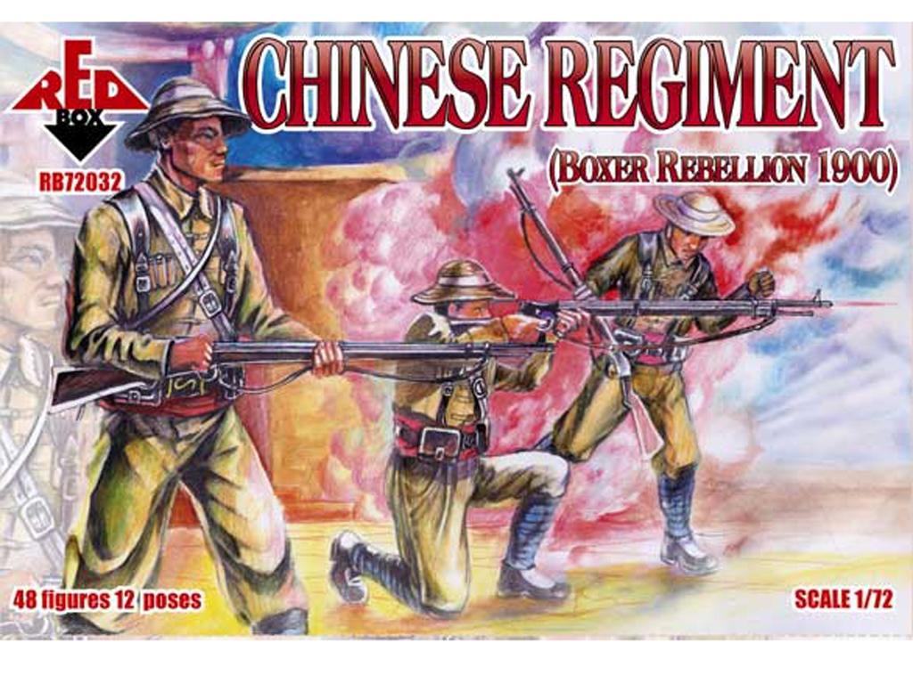 Regimiento Chino rebelión Boxer 1900  (Vista 1)