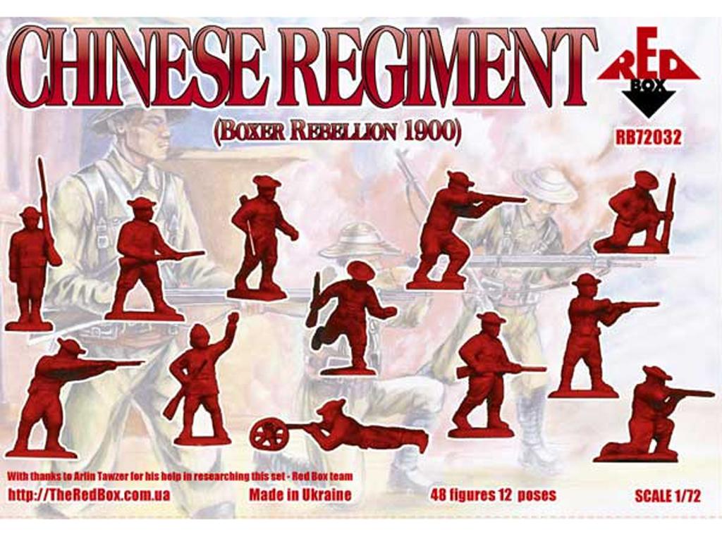 Regimiento Chino rebelión Boxer 1900  (Vista 2)