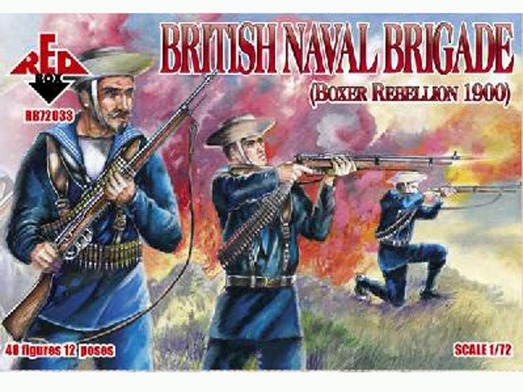 Brigada Naval Británica rebelión Boxer 1  (Vista 1)