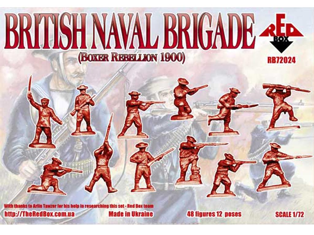 Brigada Naval Británica rebelión Boxer 1  (Vista 2)