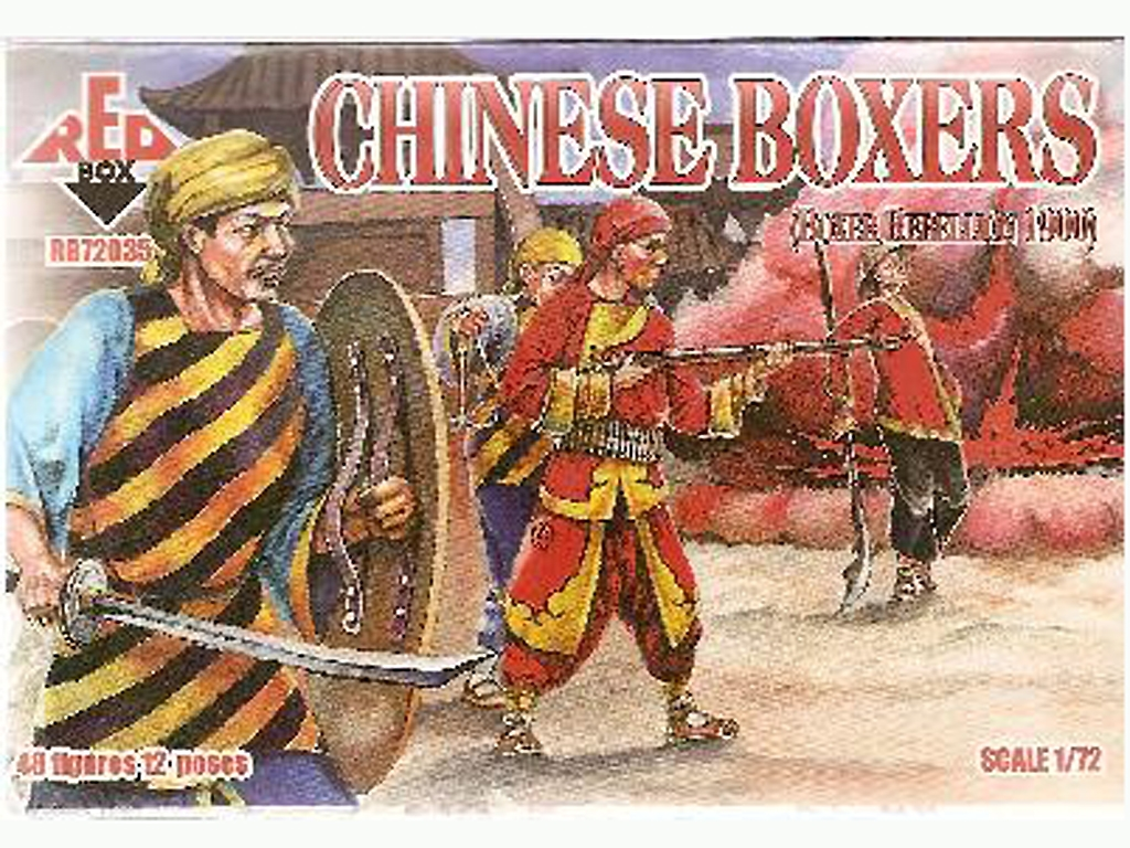 Chinos Boxers  Rebellion Boxer 1900  (Vista 1)