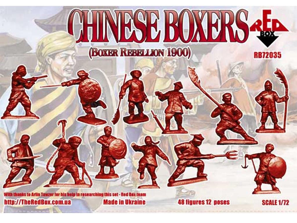 Chinos Boxers  Rebellion Boxer 1900  (Vista 2)