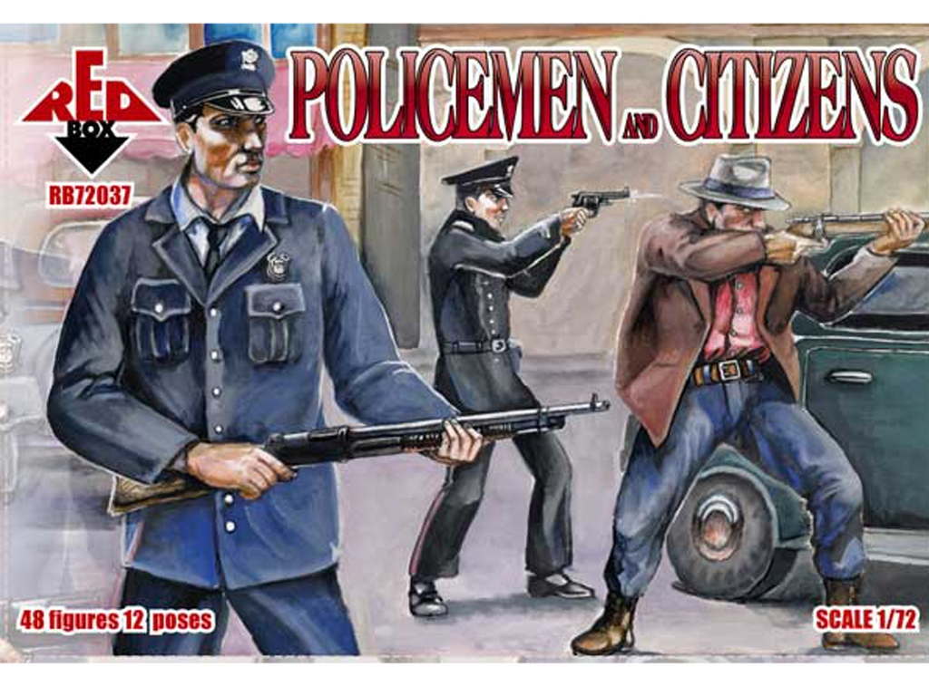 Policías y ciudadanos 1930  (Vista 1)