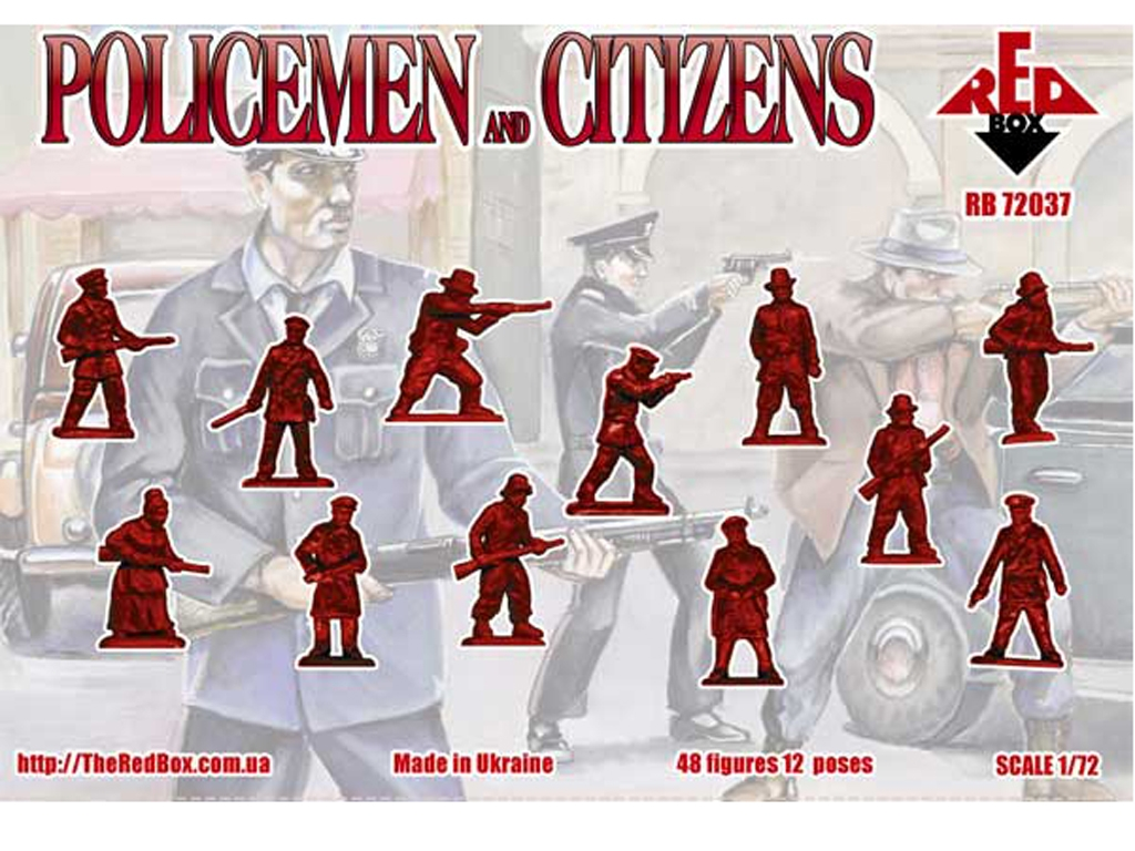 Policías y ciudadanos 1930  (Vista 2)