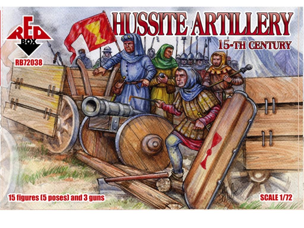 Artillería Husita Siglo XV  (Vista 1)