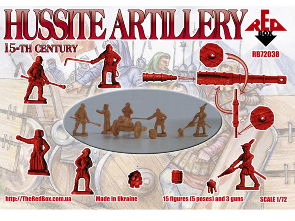 Artillería Husita Siglo XV  (Vista 2)