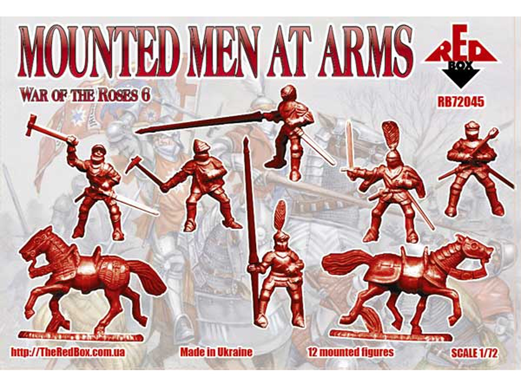 Caballeros - Guerra de las Rosas Siglo X  (Vista 2)