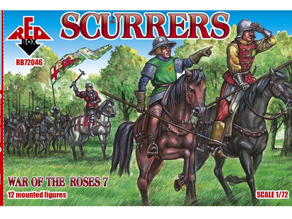 Scurrers - Guerra de las Rosas Siglo XV  (Vista 1)
