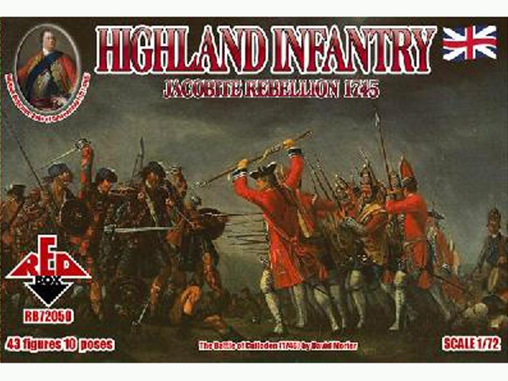 Rebelión Jacobita 1745 - Infantería de H  (Vista 1)