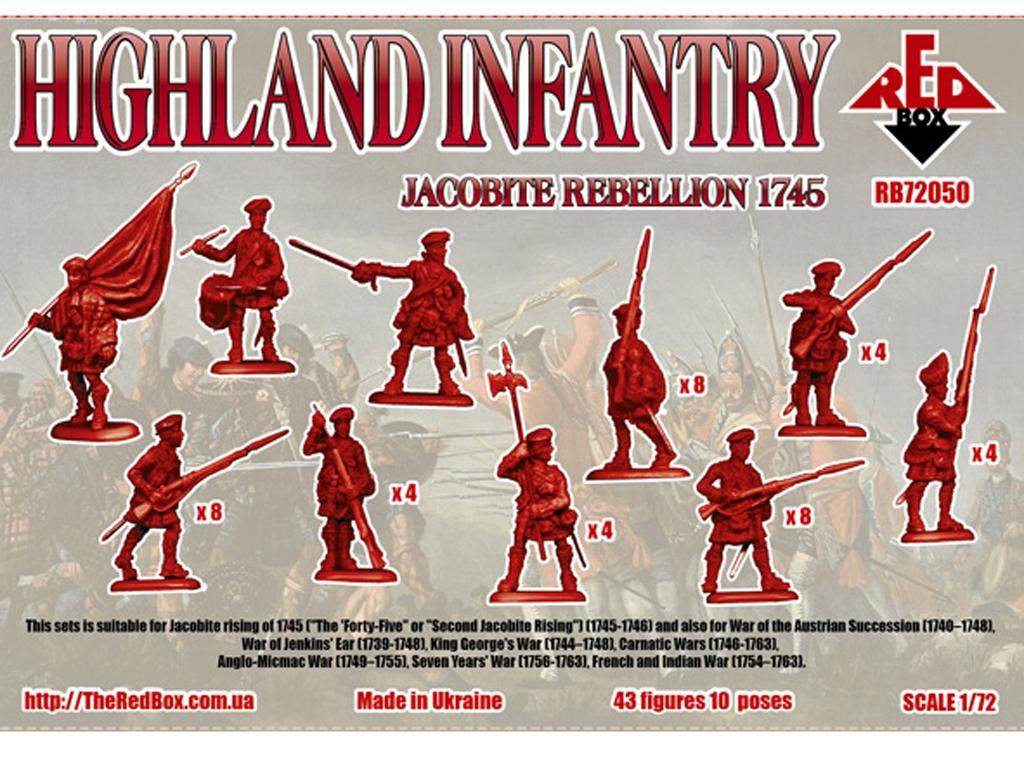 Rebelión Jacobita 1745 - Infantería de H  (Vista 2)