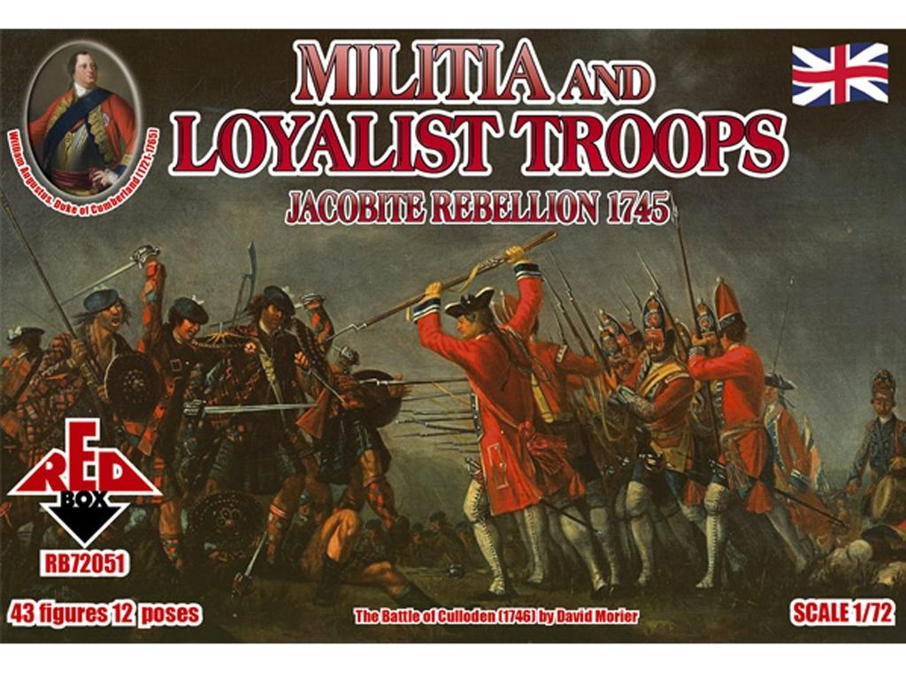 Rebelión Jacobita 1745 - Milicia y Tropa  (Vista 1)
