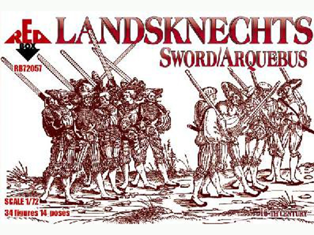 Landsknecht - Siglo XVI  (Vista 1)