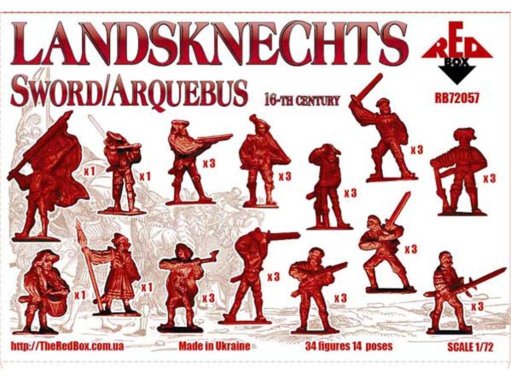 Landsknecht - Siglo XVI  (Vista 2)