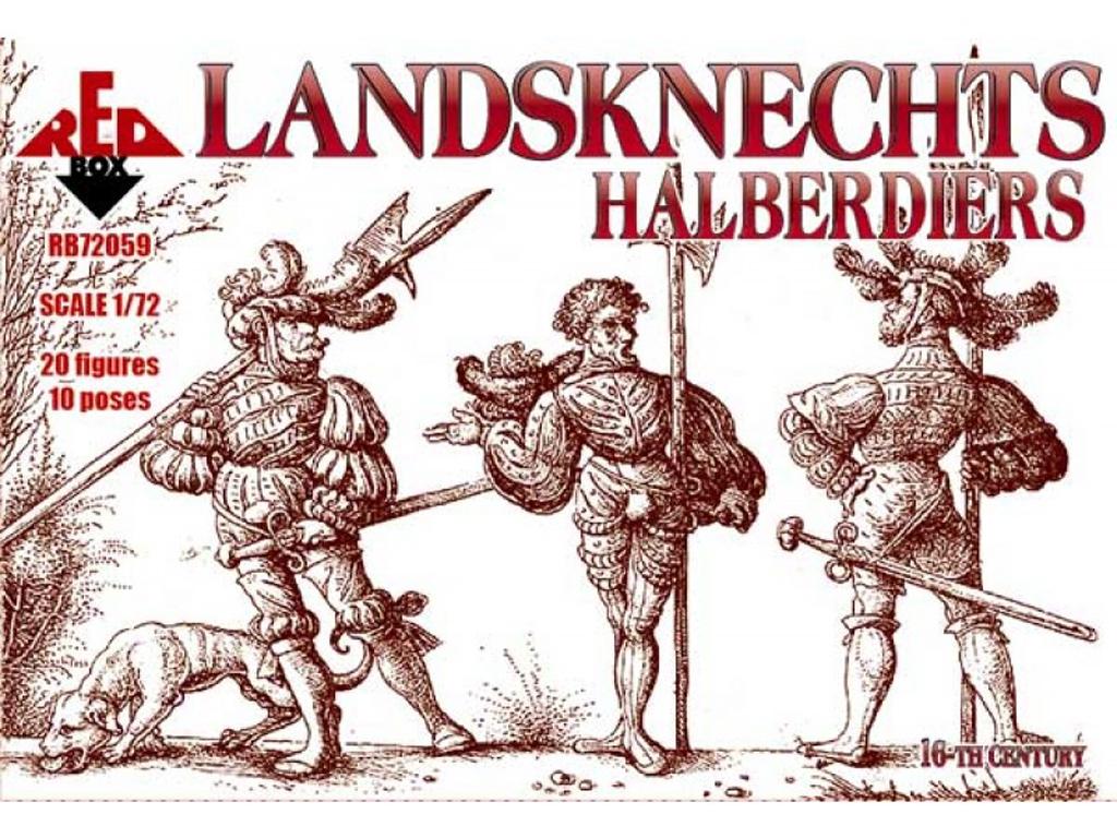 Landsknechts Halberdiers siglo XVI  (Vista 1)