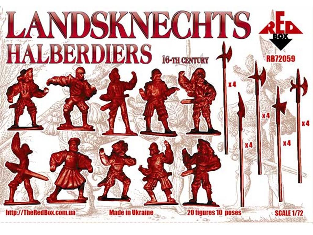 Landsknechts Halberdiers siglo XVI  (Vista 2)