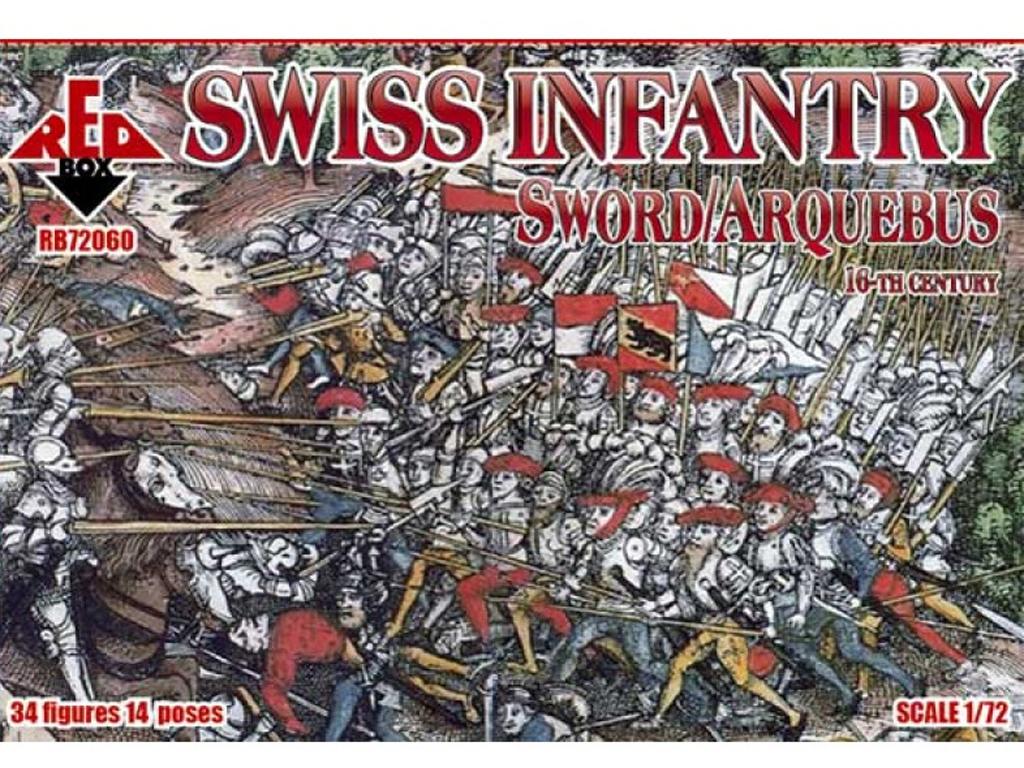 Infantería Suiza siglo XVI  (Vista 1)