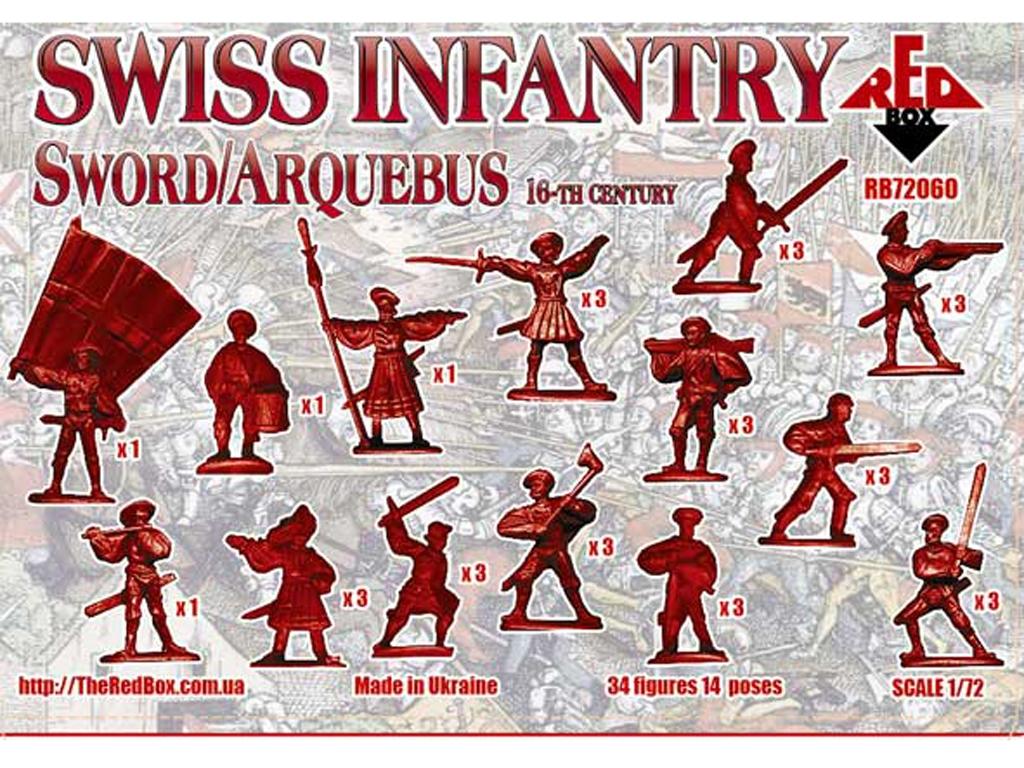Infantería Suiza siglo XVI  (Vista 2)