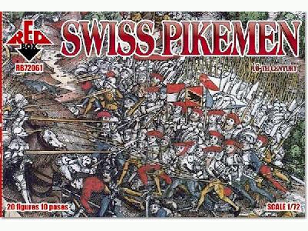Infantería Suiza Pikeman, Siglo XVI  (Vista 1)
